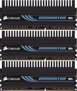 Corsair XMS3 Dominator DIMM Kit   6GB, DDR3-1600, CL8-8-8-24 (TR3X6G1600C8D)