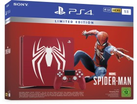 Sony PlayStation 4 Slim - 1TB Marvel's Spider-Man Limited Edition Bundle rot (9725015)
