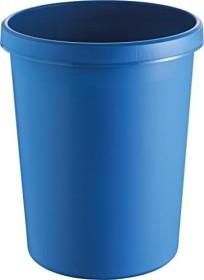 Helit the german Papierkorb 45l, rund, blau (H6106234)
