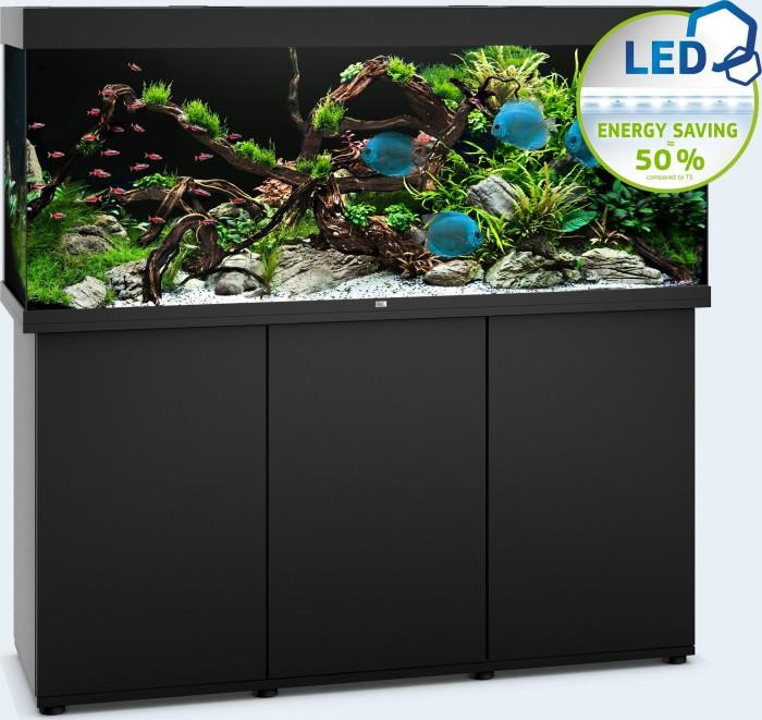 Beliebt Juwel Rio 450 LED Aquarium schwarz, SBX Unterschrank schwarz ab ZA53