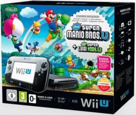Nintendo Wii U Premium Pack - 32GB Mario & Luigi Bundle schwarz