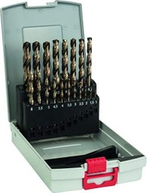 Bosch Professional HSS-Co Spiralbohrer-Set, 19-tlg. (2608587014)