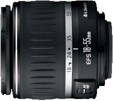 Canon EF-S 18-55mm 3.5-5.6 black