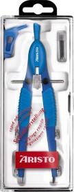 Aristo TopLine Schnellverstellzirkel, Universaladapter, hellblau/dunkelblau (AR55741)