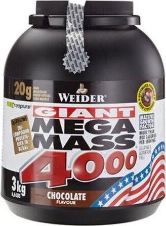 Weider Mega Mass 4000 wanilia 3kg od PLN 177,34 (2019) | Porównanie cen Cenowarka.pl Polska