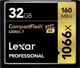 Lexar R160 CompactFlash Card [CF] Professional UDMA 1066x 32GB (LCF32CRBEU1066)