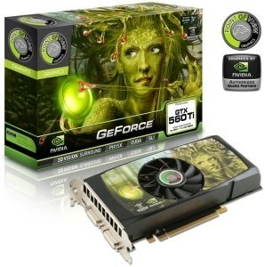 Point of View GeForce GTX 560 Ti nVIDIA-Design, 1GB GDDR5, 2x DVI, Mini HDMI (VGA-560-A2-1024)