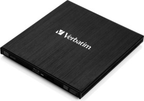 Verbatim External Slimline Blu-ray Writer, USB 3.0 (43890)