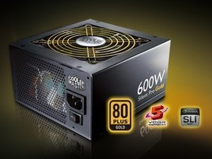 Cooler Master Silent Pro Gold  600W ATX 2.3 (RS-600-80GA-D3)