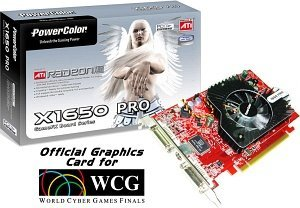 PowerColor Radeon X1600 XT/X1650 Pro, 256MB DDR2, 2x DVI, TV-out, PCIe (R53BL-TD3B)