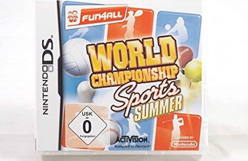World Championship Sports: Summer (deutsch) (DS) -- via Amazon Partnerprogramm