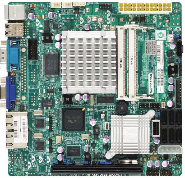 Supermicro X7SPA-HF-D525 retail (MBD-X7SPA-HF-D525-O)