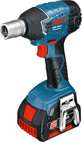 Bosch Professional GDS 18V-LI cordless impact wrench incl. L-Boxx + 2 Batteries 1.3Ah (06019A1S03) -- via Amazon Partnerprogramm