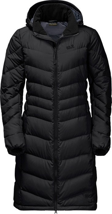 Jack Wolfskin Selenium coat black (ladies)