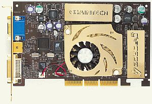 Chaintech / VideoExcel A-GT21, GeForce4 Ti4200, 128MB DDR, DVI, TV-Out, Spielebundle, AGP