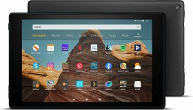 Amazon Fire HD 10 KFMAWI 2019, mit Werbung, 64GB, schwarz (53-018704)