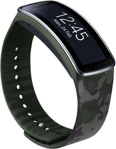 Samsung Armband für Gear Fit camouflage (ET-SR350BG)