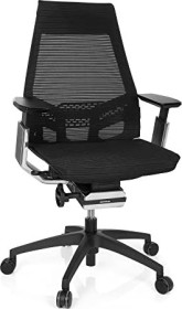 HJH Office Genidia Smart Black CM Bürostuhl, schwarz (652885)