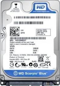 Western Digital WD Scorpio Blue 160GB, SATA 3Gb/s (WD1600BEVT)