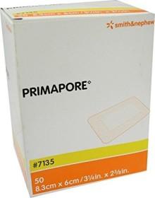 Primapore 8.3x6cm adhesive plaster, 50 pieces