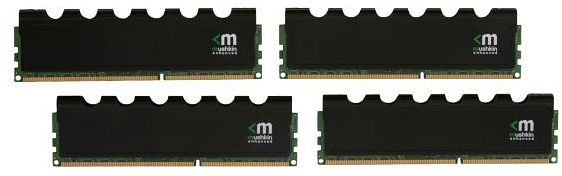 Mushkin Enhanced Blackline Frostbyte DIMM Kit 16GB  PC3-12800U CL8-8-8-24 (DDR3-1600) (994043)