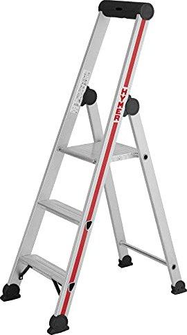 produktbilder hymer 4026 alu haushaltsleiter 3 stufen 402603. Black Bedroom Furniture Sets. Home Design Ideas