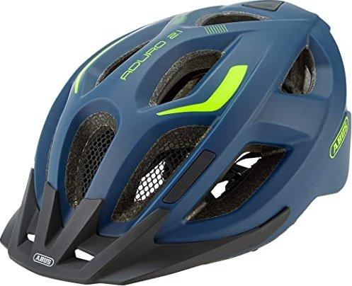Abus Aduro 2.1 Helmet Midnight Blue 2019 Fahrradhelm