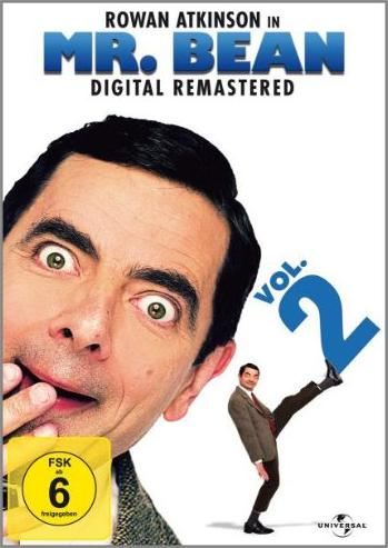 Mr. Bean Vol. 2 (Folgen 5-9) -- via Amazon Partnerprogramm