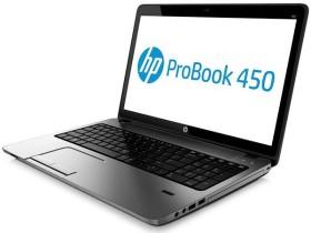 HP ProBook 450 G1 silber, Core i3-4000M, 4GB RAM, 500GB HDD (E9Y49EA)