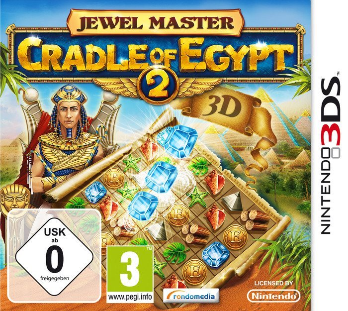 Jewel Master: cradle of Egypt 2 (English) (3DS)