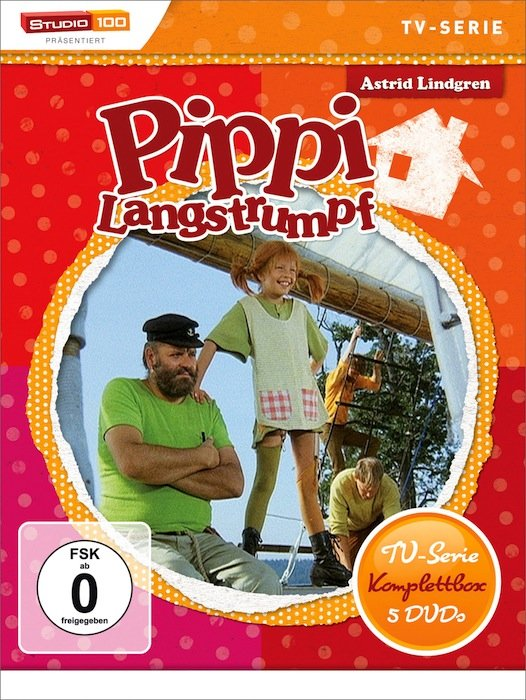 Pippi Langstrumpf TV-Serie Box
