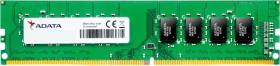 ADATA Premier DIMM 4GB, DDR4-2400, CL17-17-17-39, single tray (AD4U2400W4G17-S)