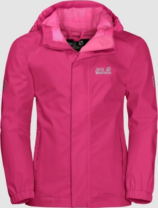 Jack Wolfskin Pine Creek Jacke tropic pink (Junior) (1607411-2145)