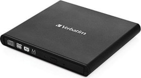 Verbatim External Slimline DVD-RW Writer, USB 2.0 (98938)