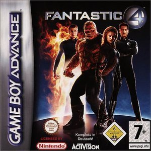 Fantastic Four: The Movie (GBA)