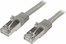 StarTech RNS PVC Patchkabel, Cat6, S/FTP, RJ-45/RJ-45, 30.5m, grau (N6SPATCH100GR)