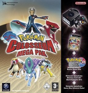 Nintendo GameCube + Pokémon Colosseum Bundle (GC)