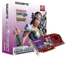 Gigabyte Radeon HD 4890, 1GB GDDR5, 2x DVI, S-Video (GV-R489-1GH-B)