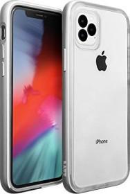 LAUT Exoframe für iPhone 11 Pro Max silber
