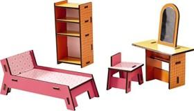 HABA Little Friends Puppenhaus - Möbel Beauty-Ecke (300510)