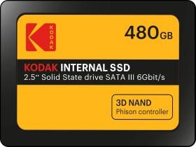 Kodak Internal SSD X150 480GB, SATA (EKSSD480GX150K)