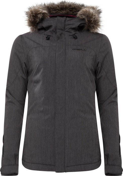 O'Neill Curve ski jacket black out (ladies)