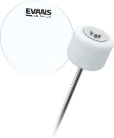 Evans EQ Patch Clear Plastic Single (EQPC1)