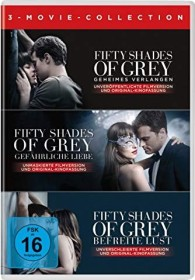 Fifty Shades of Grey - 3-Movie Collection (Special Editions) (DVD)