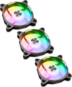 Lian Li BR Digital RGB, grau, 120mm, LED-Steuerung, 3er-Pack (BRDIGITAL-3RG)