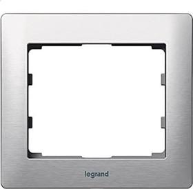 Legrand Galea Life Rahmen 1-fach, brushed aluminium (771951)