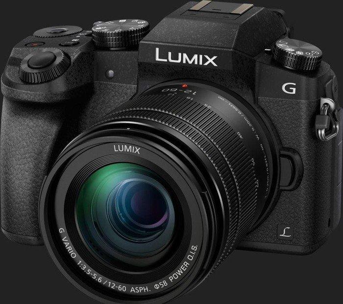 65b7a68b053f Panasonic Lumix DMC-G70 schwarz mit Objektiv Lumix G Vario 12-60mm 3.5-