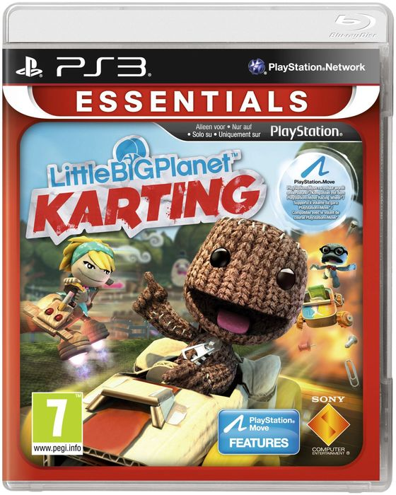little Big Planet - Karting (German) (PS3)
