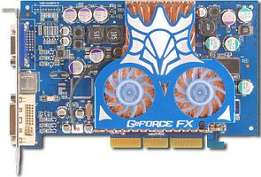 Albatron FX5700P, GeForceFX 5700, 128MB DDR2, DVI, TV-out, AGP