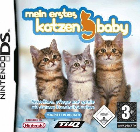 Mein erstes Katzenbaby (deutsch) (DS) -- via Amazon Partnerprogramm